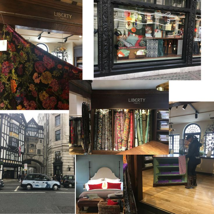 We had a productive visit to Liberty London to look at their new range. Watch this space! #LibertyLondonFabrics #NewRange