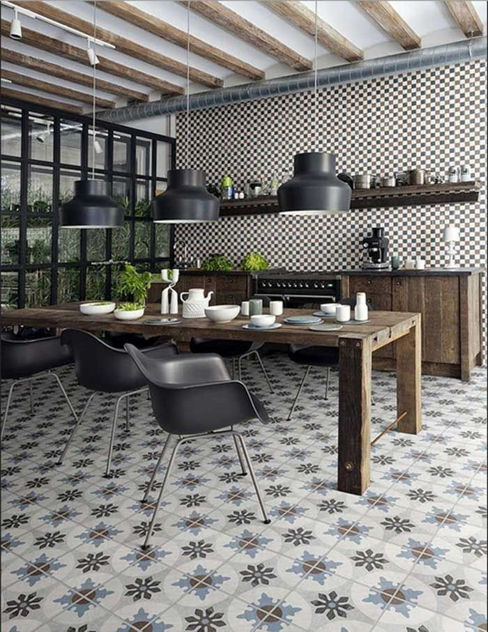 64 best Bodenfliesen Kueche images on Pinterest | Flooring tiles ...