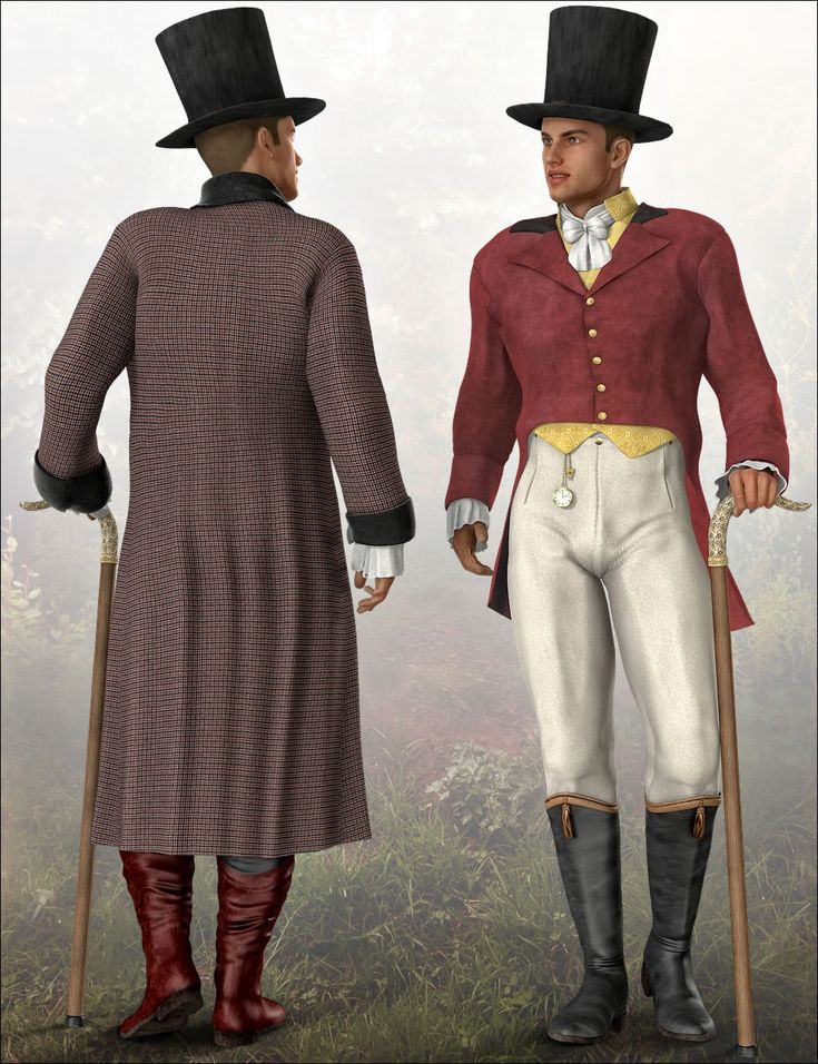 Regency Country Gentleman | 3D Models and 3D Software by Daz 3D