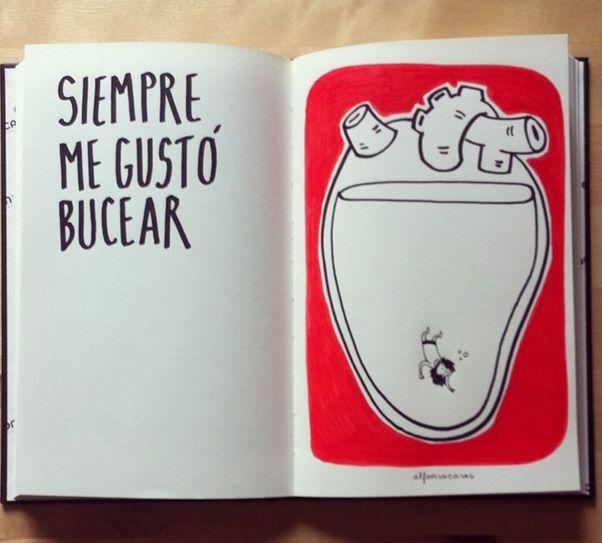 http://instagram.com/alfonsocasas Alfonso Casas. Siempre me gustó bucear