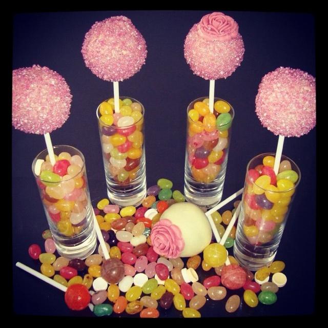 Idea for cake pop display