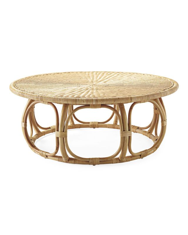 How To Create A Chic Beachy Living Room You'll Want To Show Off.  Upholstered Coffee TablesRattan ... - 25+ Best Rattan Coffee Table Ideas On Pinterest Wicker Coffee