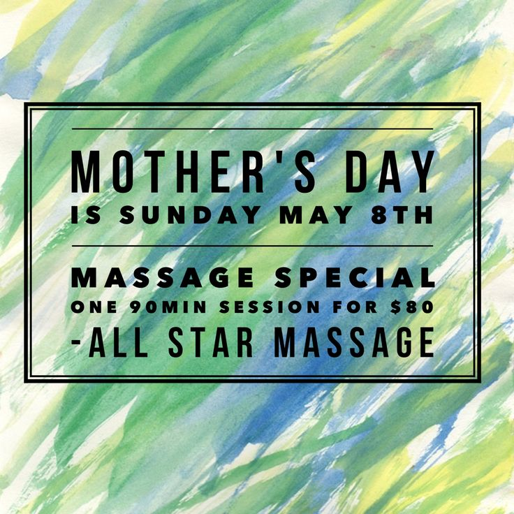 cover letter examples massage therapist%0A Mother u    s Day is Sunday May  th  Get the special Mom in your life a gift  that shows you care  Give her the gift of massage  We are offering a  Mother u    s Day