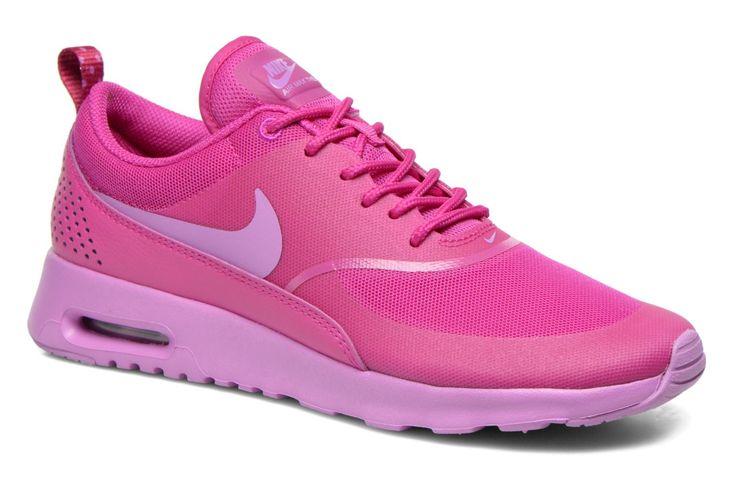 ¡Cómpralo ya!. Wmns Nike Air Max Thea by Nike. ¡Envío GRATIS en 48hr! Deportivas Nike (Mujer), disponible en 37 1/2 , deportivas, sport, deporte, deportivo, fitness, deportivos, deportiva, deporte, trainers, sporty, plimsoll, sportschuhe, tenis, chaussuressportives, sportive, deportivas. Deportivas  de mujer color rosa de Nike.