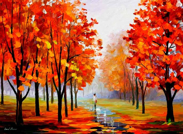 Paisajes bonitos de otoño