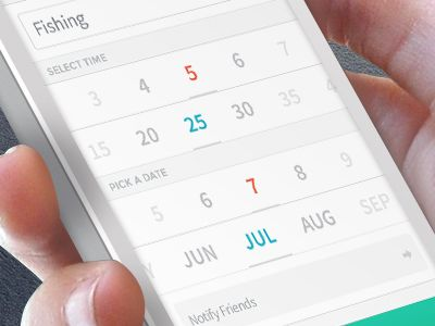 Date & time picker by Abhimanyu Rana