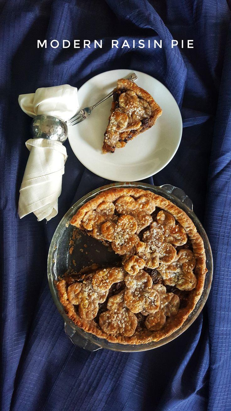 Modern Raisin Pie