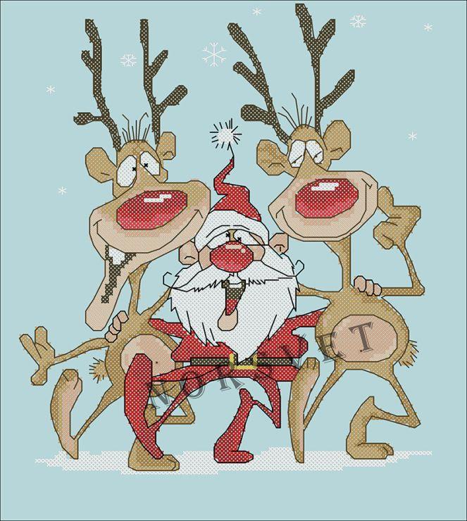 Хулиганские открытки про новый год