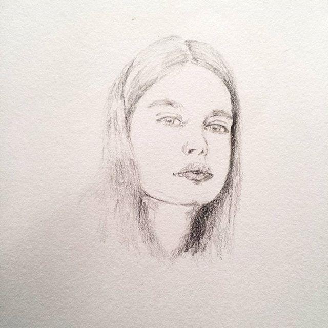 #wip #portrait #progress #face #graphite #draw #pen #sketchbook #bouchac #mizu_art #area52artwork