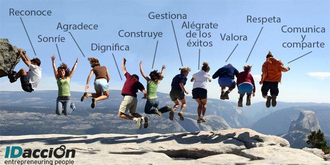 El valor del equipo humano: 10 principios para el reconocimiento laboral