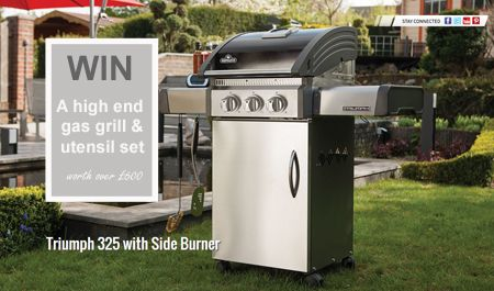 Win a Napoleon Grill and BBQ utensils worth over £600