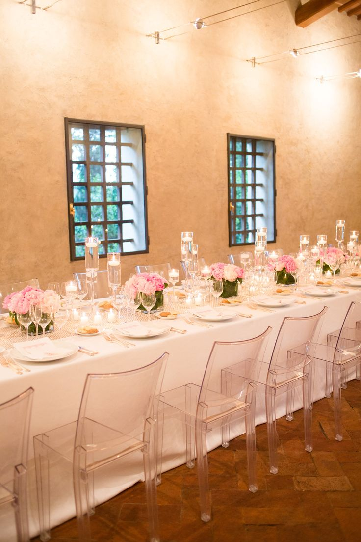 #modern #tablescape paired with a Tuscan villa  Photography: Jessica Burke - www.jessicaburke.com, Design and Styling by http://www.regencysanmarino.com  Read More: http://stylemepretty.com/2013/10/17/tuscany-italy-wedding-from-jessica-burke/