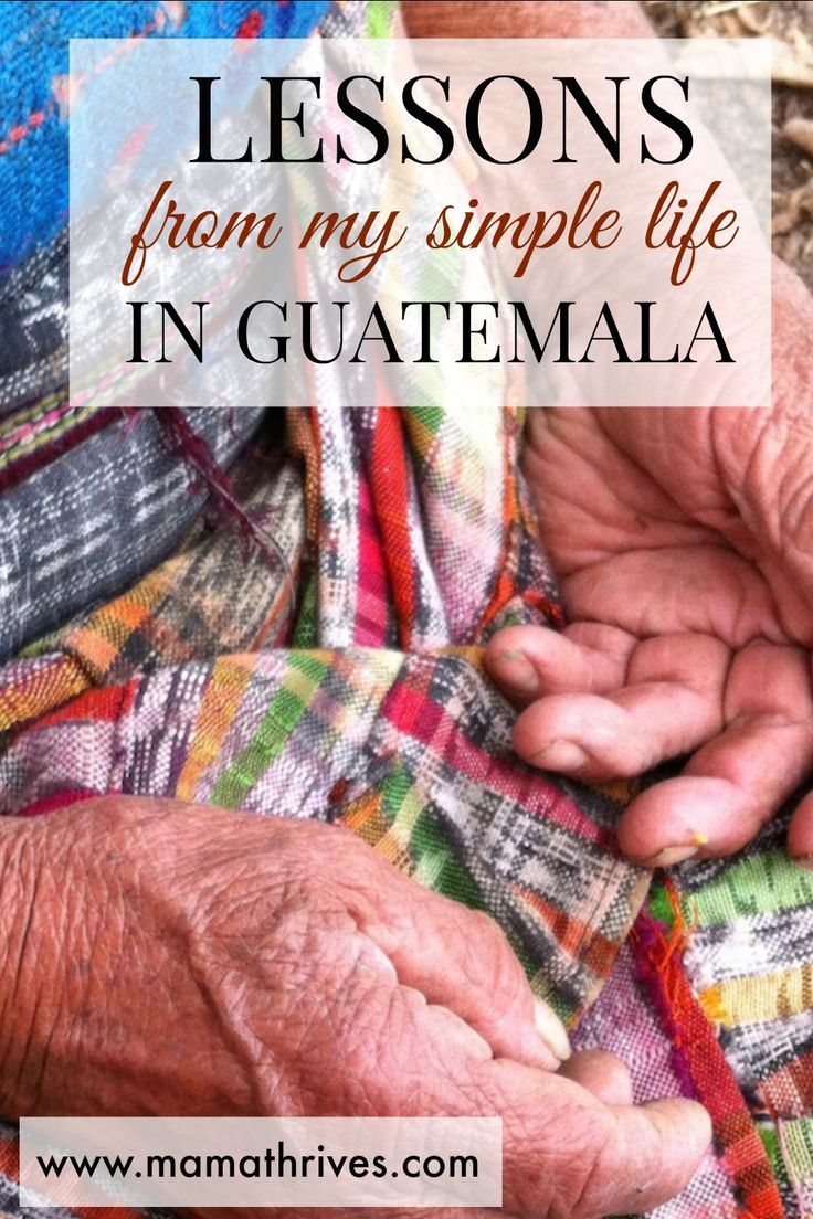 What Guatemala is teaching me about simple living... Here are some lessons from my simple life in Guatemala, and why starting a travel blog didn't work for me. Read the article here.