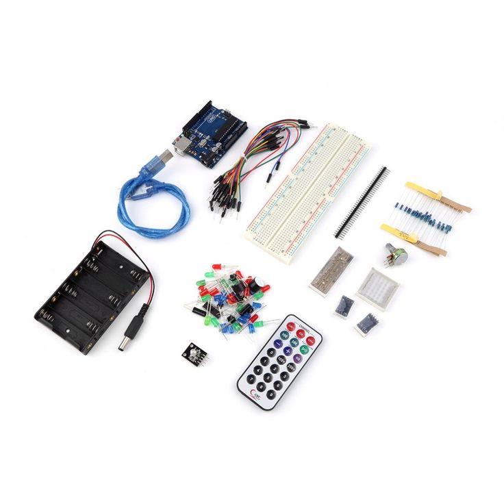 $24.49 (Buy here: https://alitems.com/g/1e8d114494ebda23ff8b16525dc3e8/?i=5&ulp=https%3A%2F%2Fwww.aliexpress.com%2Fitem%2FUNO-R3-Solderless-Breadboard-8-8-Dot-Matrix-Module-Starter-Kit-for-Arduino-High-Quality%2F32613653451.html ) UNO R3 + Solderless Breadboard 8*8 Dot Matrix Module Starter Kit for Arduino In Stock Free Shipping for just $24.49