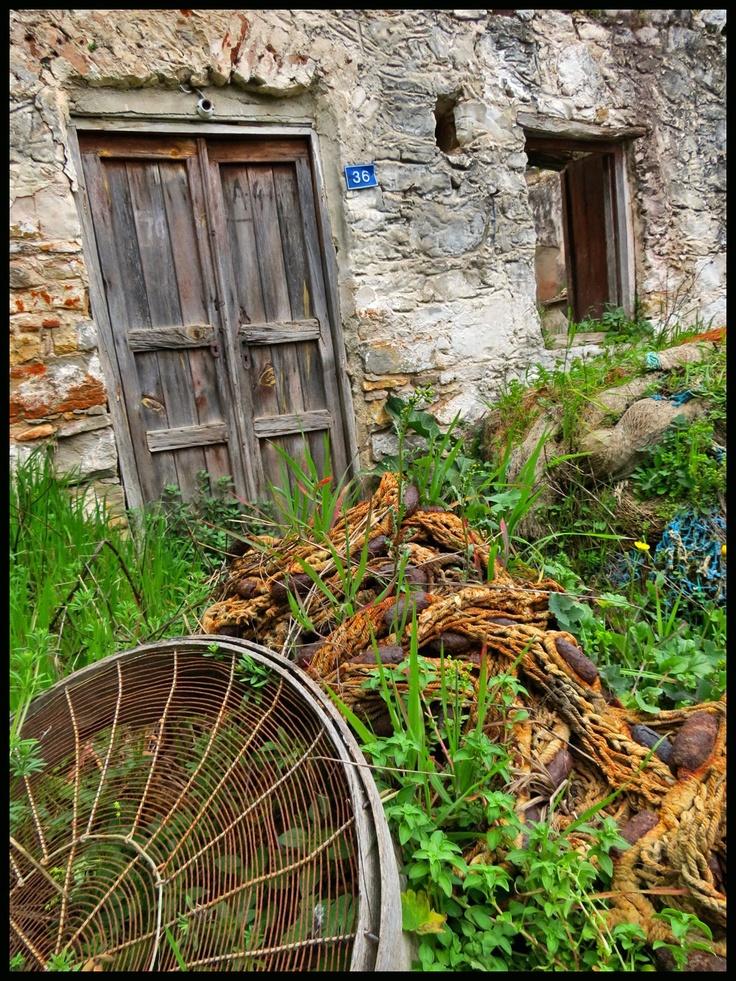Abandoned sifter at abandoned house