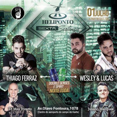 Heliponto Bar | Sexta Sertaneja com Double Senses e Spirit pra Elas a noite toda Coloque seu nome na lista pelo link: http://www.baladassp.com.br/balada-sp-evento/Heliponto-Bar/326 Whats: 11 95167-4133