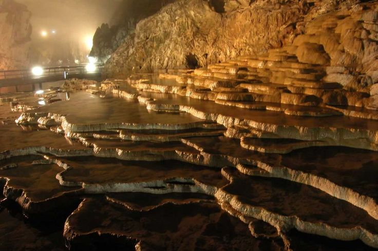 Akiyoshidai Plateau in Japan is now Japan's largest cave - sinkholes are some of the first surface expressions of all caves
