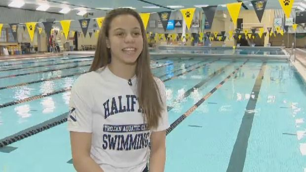 A Halifax teen is making a splash in the swimming world and has her sights set on the Olympic podium. Click on the link to learn more http://atlantic.ctvnews.ca/halifax-teen-makes-a-splash-in-the-swimming-world-1.2801329