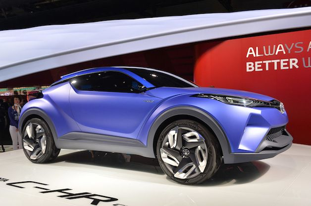 Toyota says C-HR Concept is more of a Prius preview than we thought