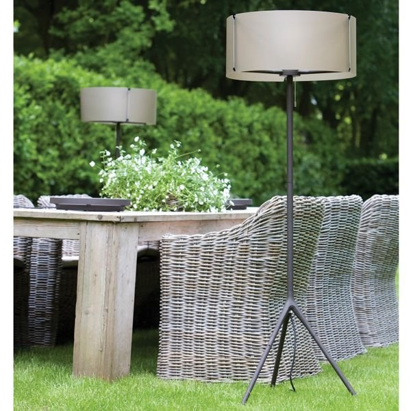 Modern Outside Floor Lamps For Patio, Deck Or Garden.