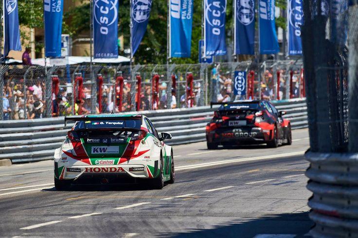 #WTCC Portugal 2015: Photography: David Noels #TypeR #Honda #Civic #Honda #GabrieleTarquini
