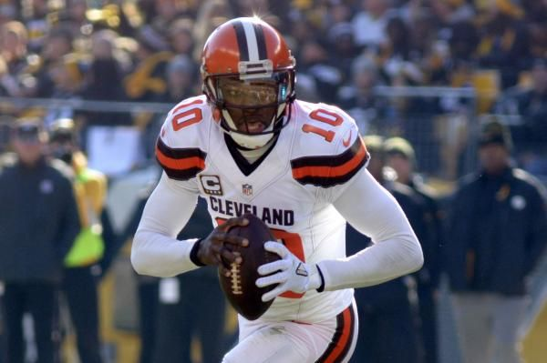 The Cleveland Browns released quarterback Robert Griffin III on Friday, a day after acquiring Brock Osweiler from the Houston Texans.