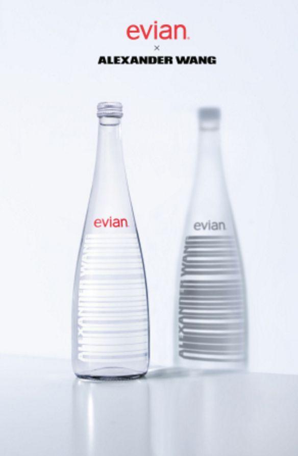 Bouteille d'Evian par Alexander Wang - Blog Déco Design