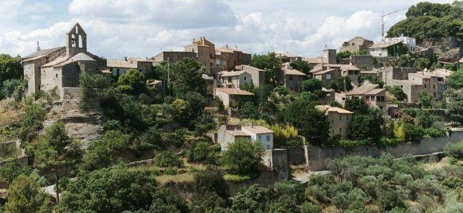 vue of the village,  Saumane, #provence #vaucluse #saumane #village