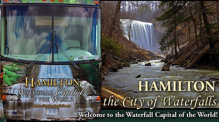 Hamilton- the waterfall capital of the world