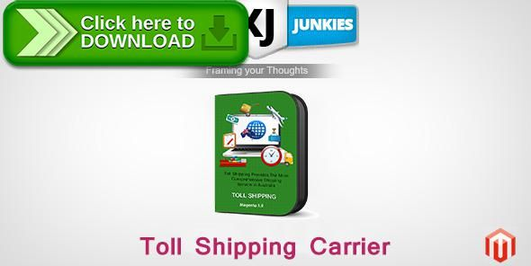 [ThemeForest]Free nulled download XJ Toll Shipping Carrier from http://zippyfile.download/f.php?id=59174 Tags: ecommerce, magento, magento extension, magento plugin, xj shipping toll carrier