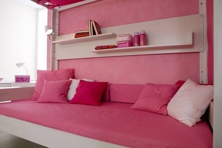 17 best images about canopy beds on pinterest guest for Girls sofa bed