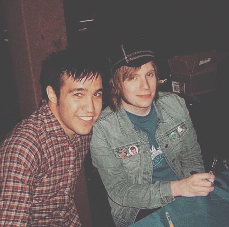 patrick stump and pete wentz dating