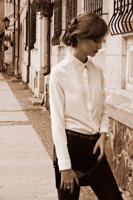 mademoiselle-adrienne.blogspot.com Shirt - MOHITO  #shirt #streetstyle