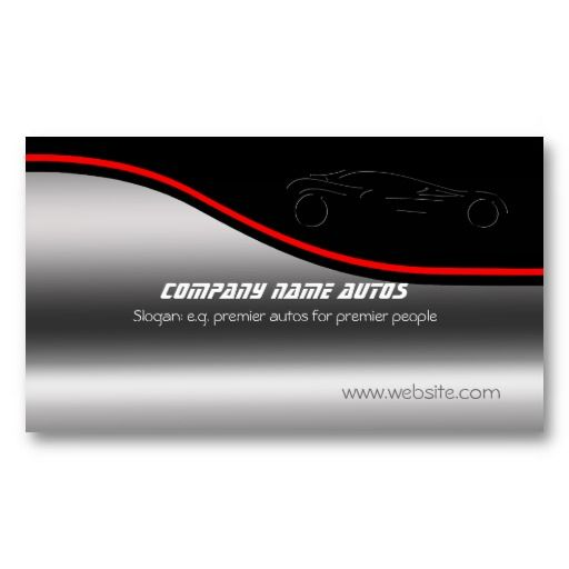 1000 images about auto sales business cards on pinterest for Auto sales business cards