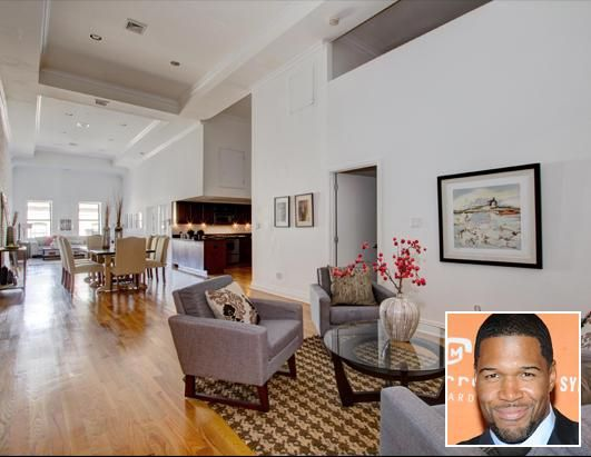 Former Giant Michael Strahans Too Tall Apartment And Other Celebrity Homes