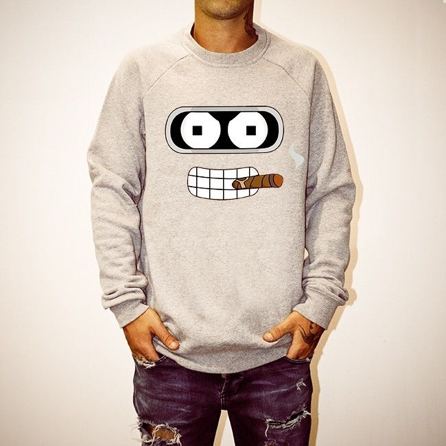 Buy Bender Face Marble Crew online today at Uncle Reco's Online Store.