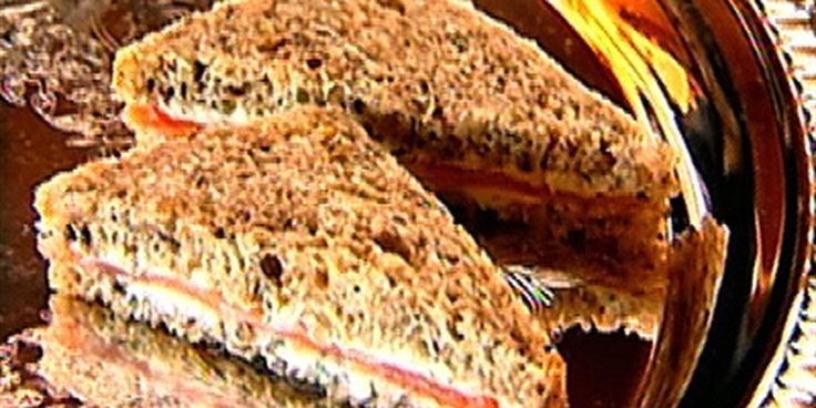 Try this Smoked Salmon Tea Sandwiches recipe by Chef Ina Garten. This recipe is from the show Barefoot Contessa.
