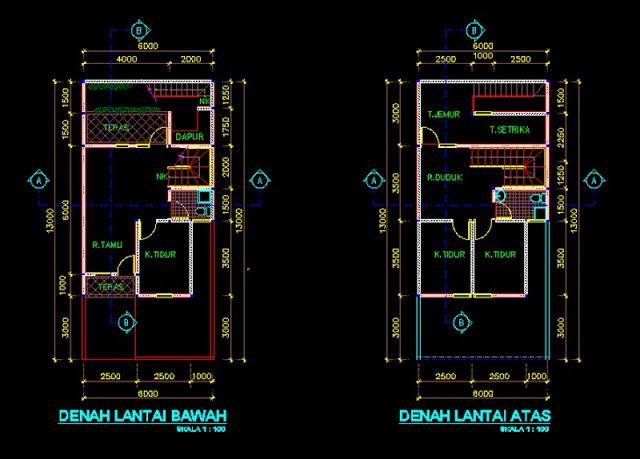 Sebagai Bahan Referensi Dan Pembelajaran Selanjutnya Di Postingan Blog Kali Ini Saya Akan Share Contoh Gambar Kerja Desain Rumah Min Desain Rumah Desain Rumah