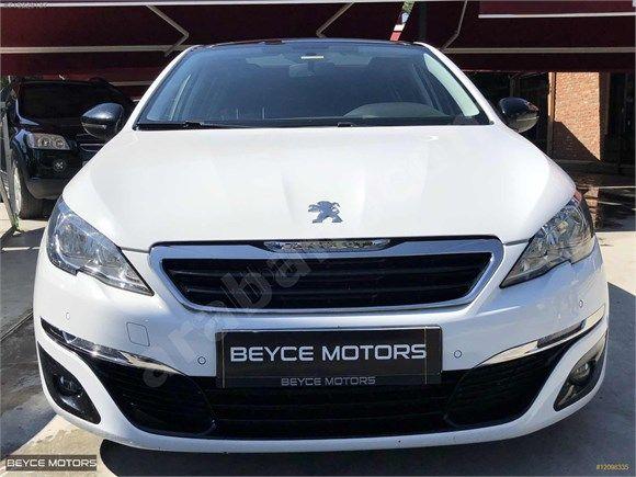 Beyce Motors 2015 Peugeot 308 1 6 Bluehdi Cam Tavan Hatasiz 101 000 Tl Arabamcom Araba Ikinciel Peugeot Peugeot Tavan