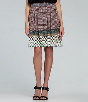 M.S.S.P. Geometric-Print Skirt | Dillard's Mobile
