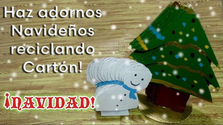 1294 migliori immagini adornos navidad su pinterest - Como hacer adornos navidenos ...