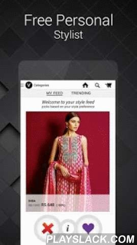 Voonik: Women Fashion Shopping  Android App - playslack.com ,  In the Voonik appShop for women fashion,ethnic wear,lingerie,designer wear,ladies bags,shoes,beauty,accessories,jewelleryShop from Jabong,Fashionara,Fashionandyou,Yepme,Zovi,Purplle,Voylla,Mirraw,Cbazaar, and Snapdeal in a single checkout.Shop for clothes that suit your bodyshape,skin-tone & style. Free personal stylist in the app.APP FEATURESIN APP PERSONAL STYLIST Shop for fashion that flatters your bodyshape,skin-tone and…