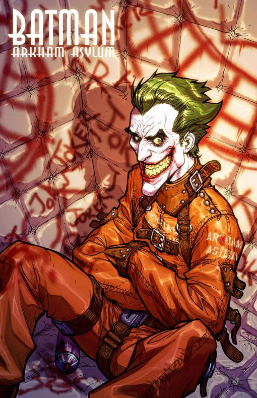 Batman: Arkham Asylum - The Joker by Carlos D'Anda *