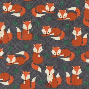 Baby Bedding Crib Bedding  Fox Gray and by WHIMSICALandWITTY
