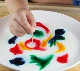 pintando leche http://actividadesinfantil.com/archives/9528#more-9528