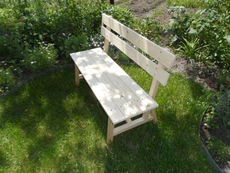 Садовая деревянная скамья своими руками
