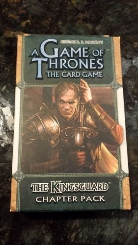 Gamerzoutlet.com - A Game of Thrones LCG: The Kingsguard Chapter Pack Card Game, $14.25 (http://www.gamerzoutlet.com/a-game-of-thrones-lcg-the-kingsguard-chapter-pack-card-game/)