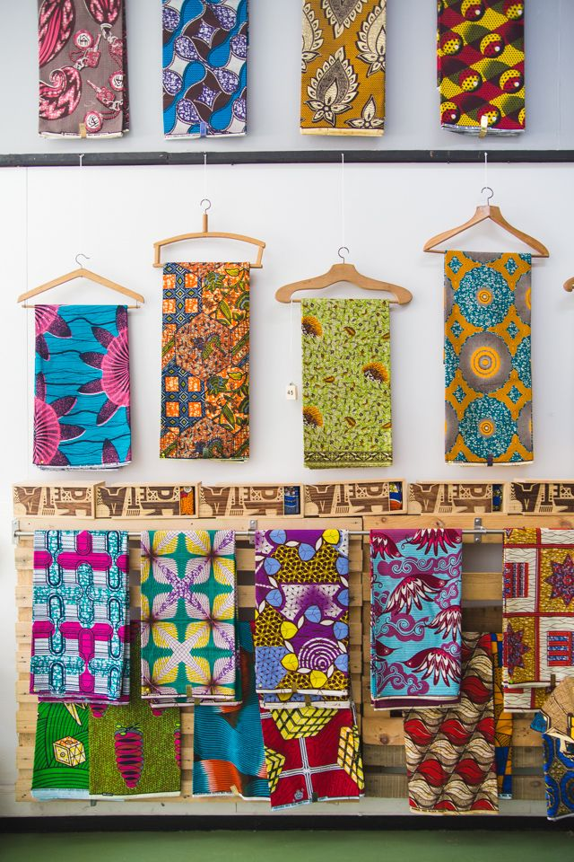 African wax printed fabric | 3 Inspiring Areas Of Lisbon To Visit - I Want You To Know