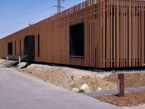 126 best images about corten steel architecture on for Delmas architecte