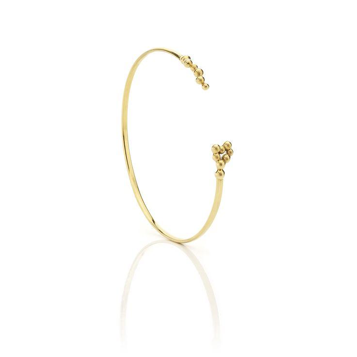 Yellow gold bracelet #huffyjewels www.huffyjewels.com